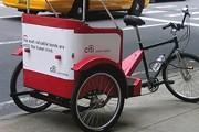 Велорикши - распространенный вид транспорта во многих городах мира. // Wikipedia