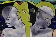 Одна из работ Жана Кокто, Средиземноморье, 1952 год. // tourmagazine.fr