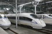 Высокоскоростные поезда китайских железных дорог // Xinhua