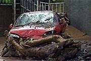 Затоплен город Фуншал, где расположено множество отелей. // НТВ