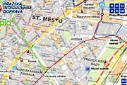 Интерактивная карта сделает посещение Праги еще более комфортным. // pid.planydopravy.cz