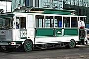 """""""Трамбус"""" курсирует по центральной улице Лодзи. // turystyka.uml.samozycie.pl"""