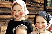 Дети-påskkärring в Скансенe // cityshopping.se