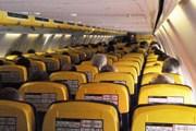 Салон самолета Ryanair // Travel.ru