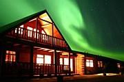 Северное сияние в Исландии // hotelranga.is