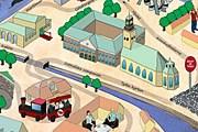 Часть маршрута нового автопоезда // stinsensightseeing.se