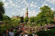 Тиволи - популярное место отдыха в Копенгагене. // dasbernie.com
