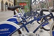 Стойка с муниципальными велосипедами в Стокгольме // flickr.com