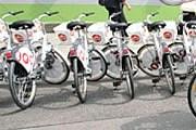 Стоянка велосипедов Citybike в Вене // schicker.at