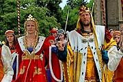 В празднике примет участие король Вацлав IV со свитой. // czechtourism.com