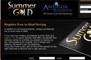 Summer Gold Card предлагает множество скидок. // antiguasummergold.com