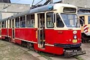 Туристы смогут прокатиться на ретротрамваях. // tramwaje.slask.pl