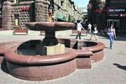 На Крещатике, 15 фонтан включали только на День Киева. // Ю. Кузнецов, segodnya.ua