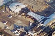 Новый терминал Внуково (внизу в центре - старые терминалы) // Travel.ru