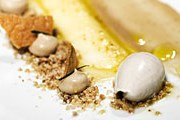 Одно из блюд из меню ресторана Luomo // luomo.fi