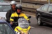 Мототакси - экономичный и быстрый вид транспорта. // taxi-moto.cz