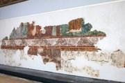 До наших дней сохранилась лишь нижняя часть фрески. // Министерство туризма Израиля в РФ и СНГ
