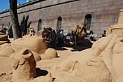 Фестиваль проводится на пляже Петропавловской крепости. // saint-petersburg.ru