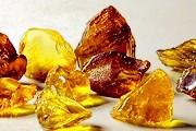 В музее представлены камни и изделия из янтаря. // bestgold.ru