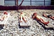 Наиболее многочисленными посетителями пляжа являются россияне. // Travel.ru