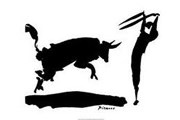 Коррида - одна из старейших традиций Испании. // Рисунок Пабло Пикассо