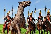 Открытие памятника было приурочено к празднованию дня рождения Наполеона Бонапарта. // idnes.cz / Otto Ballon