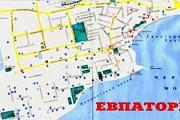 Карты Евпатории будут раздавать бесплатно. // map-site.narod.ru