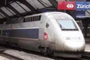 Поезд TGV на вокзале Цюриха // Travel.ru