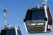 Кабинка новой канатной дороги Gipfelbahn // onthesnow.com
