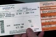 """Посадочный талон """"Аэрофлота"""" // Travel.ru"""