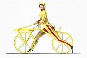 Велосипед, изобретенный бароном фон Драйзом. // wikipedia.org