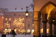 В центре Кракова появятся зимние ресторанные дворики. // treatvaricoseveins.co.uk