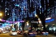 Orchard Road украсили к праздникам. // alicesg.blogspot.com