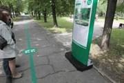 Для аналогичного маршрута в Перми выбран зеленый цвет. // tema.ru