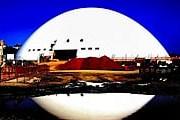 В день рождения архитектора публика смогла увидеть купол главного здания культурного центра. // dailytonic.com