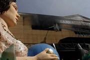 Огонь уничтожил костюмы и реквизит. // AP, Felipe Dana