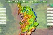 Фрагмент карты на сайте Минспорттуризма Хакасии