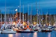 Яхты в гавани Сандхамна // ksss.se