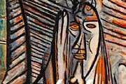 На выставке представлены работы художников, вдохновленных поэзией Сезера. // tout-paris.org