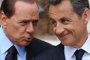 Саркози и Берлускони обсудили проблему нелегальных мигрантов. // AFP