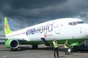 Самолет S7 Airlines в цветах oneworld // Travel.ru