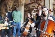Музыканты на колоннаде у фонтана Bethesda в Центральном парке. // nydailynews.com