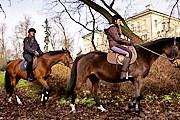 Туристы могут совершить путешествие верхом. // wsiodle.lodzkie.pl