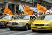 Греческие таксисты продолжают бастовать. // greekreporter.com