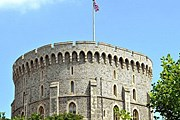 Круглая башня Виндзорского замка // PA