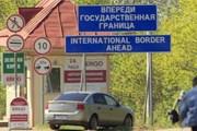 """Пересечь границу Эстонии с Россией стало несложно. // РИА """"Новости"""""""