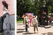 Новый памятник можно примерить; в старый - забраться. // Елена Нагорных, Российская газета