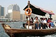 Проезд на традиционной лодке абра стоит всего 1 дирхам. // saleinuae.blogspot.com