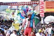 Фестиваль состоит из череды красочных карнавалов. // carnavaldesanmiguel.net