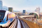 Поезд дубайского метро // gulfnews.com